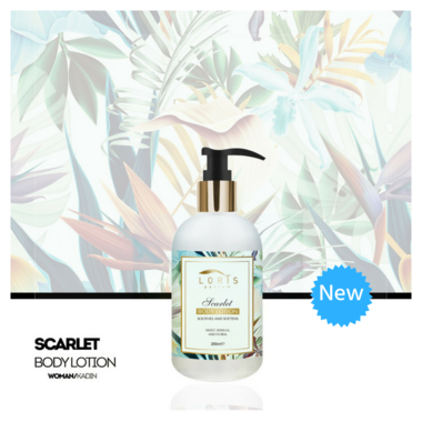Body Lotion -  Scarlet
