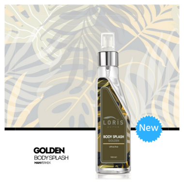 Body Mist Golden - Heren